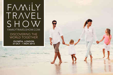 Olympia - Two Tickets to The Family Travel Show - Save 50%