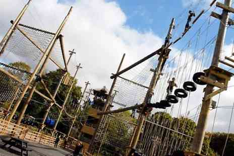 Aerial Extreme  - Aerial Extreme Adventure Course With Certificate and £5 Groupon Credit  - Save 0%