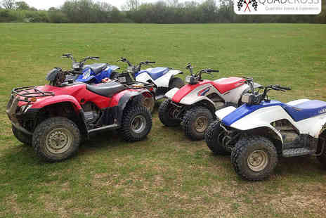 KJB Quad Cross - Five Mile Quad Biking Experience - Save 67%