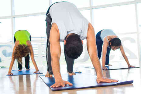 Fitness On Fire - Three Hot Yoga Classes - Save 0%