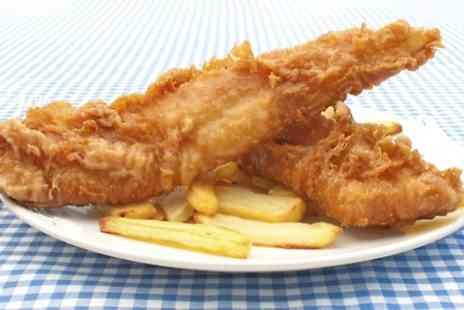 The Heritage Fish & Chips, - Fish and Chips For Two - Save 0%