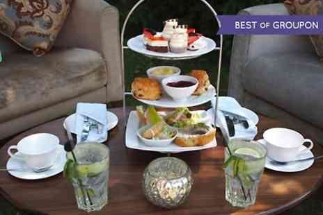 Hatherley Manor - Cocktail Afternoon Tea For Two  - Save 48%