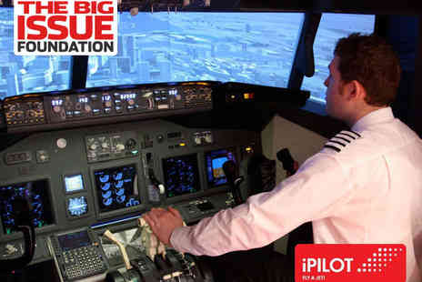 iPilot - 20 Minute  Flight Simulator Experience - Save 0%
