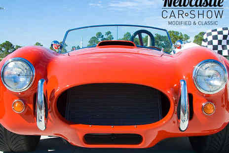 Newcastle Racecourse - Two Tickets to The Newcastle Car Show - Save 40%
