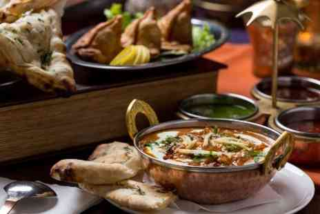 NEW DEVI TANDOORI - Two Course Indian Meal With Side and Drink For One, Two or Four  - Save 48%