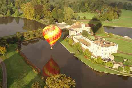 Balloons Over Britain - One Hour Hot Air Balloon Flight - Save 40%