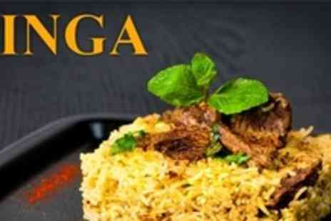 Zinga - Two Courses of Contemporary Indian Fare For Two - Save 60%