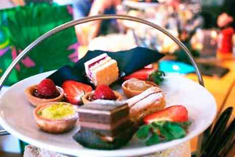 Cafe Nucleus - Afternoon Tea For Two With Champagne  - Save 0%