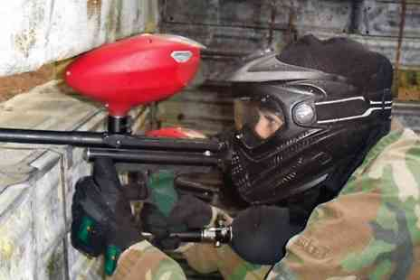 Skirmish Paintball  - Paintballing For Up to Ten With 100 Balls Each  - Save 81%