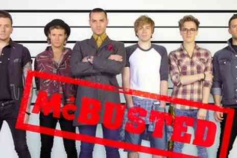 Cuffe and Taylor - VIP Package for 2 to see McBusted  - Save 62%