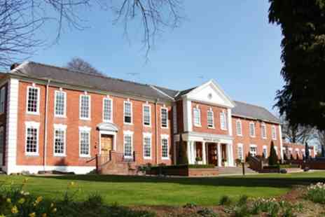 The Manor Hotel - West Midlands­ Stay with Two AA Rosette Dinner - Save 40%