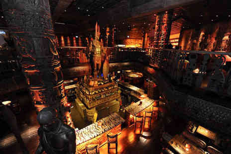 Shaka Zulu - Three course meal and Champagne cocktails for Two - Save 43%