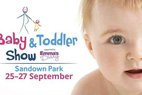 Baby and Toddler Show - Entry TO Baby and Toddler Show  - Save 45%