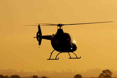 Helicentre Aviation - Helicopter Pilot Experience Including Hover Challenge for One - Save 41%