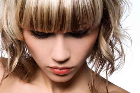 Fusion Hair Design & Beauty - Haircut, Blow Dry, Treatment, and Half a Head of Highlights   - Save 69%