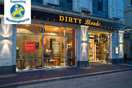 Dirty Blonde - Burger or Hot Dog for Two with Cocktail Each - Save 59%