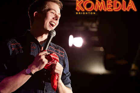 Komedia Brighton - Comedy Ticket and Burger for One  - Save 50%