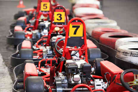 Chequered Flag Karting - Session of indoor go karting   Save 54%