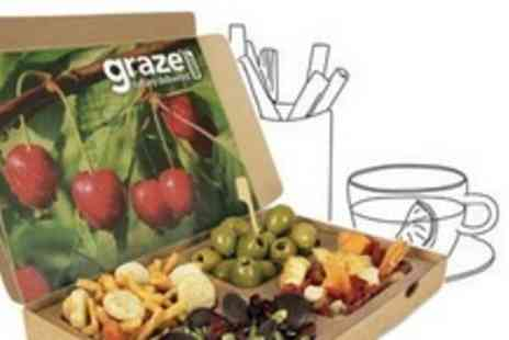 Graze - Four Healthy Snack Boxes - Save 62%