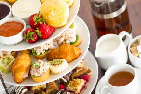 The Hotel Collection - Coastal Afternoon Tea with Sparkling Wine for Two - Save 38%