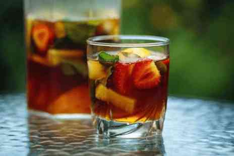 The Colonnade Hotel - Jug of Pimms on the terrace - Save 0%