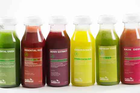 Pure Viva Cleanse - Three  Days Juice Cleanse - Save 0%