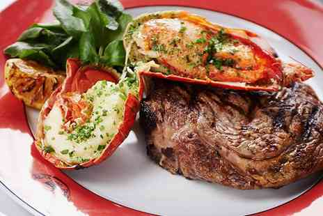 Boisdale of Bishopsgate - Steak, Lobster and Prosecco For Two  - Save 53%