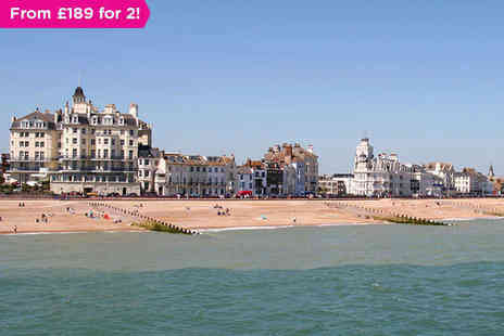 Imperial Hotel - Three Night Weekend Stay for Two in Handsome Eastbourne - Save 0%