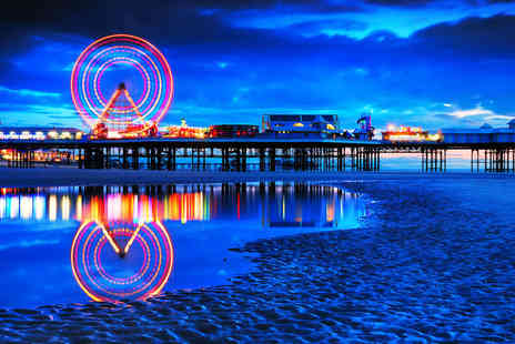 Alfies Hotel - One night Blackpool break for two including dinner, wine and breakfast - Save 51%