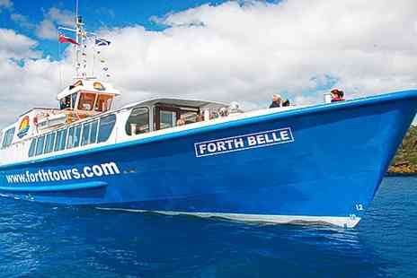 Forth Boat Tours - Sightseeing Cruise For Two - Save 50%