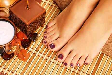 Pure Hair & Beauty - Gel Manicure or Pedicure  - Save 40%