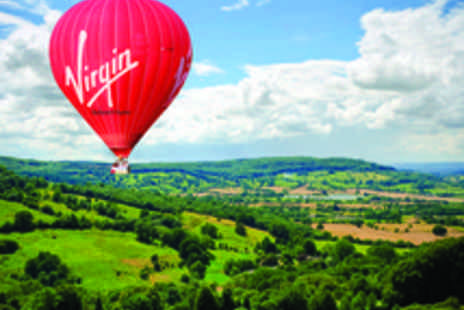 Virgin Balloon Flights - Virgin Hot Air Balloon Ride with a Glass of Champagne - Save 50%