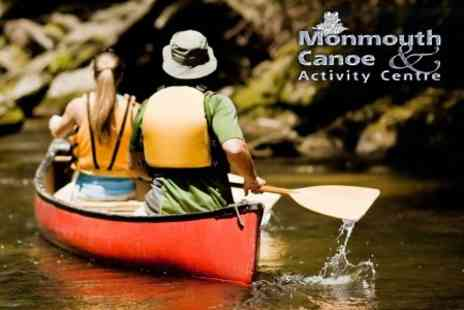Monmouth Canoe & Activity Centre - Full Day Guided Trip Down the River Wye from Goodrich Castle to Monmouth for £34 - Save 60%