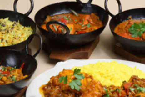 Elaichi Indian Restaurant - 2 course meal for 2 including sides, naans, poppodoms, rice & liqueur coffee - Save 53%