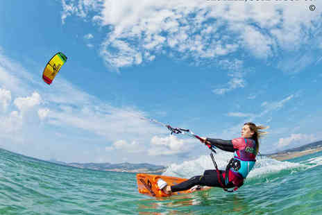 The Kitesurf Centre  - Two Hour Introduction to Kitesurfing Lesson for One  - Save 53%