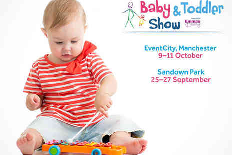 Baby & Toddler Show - Entry to Baby & Toddler Show at EventCity in Manchester or Sandown Park in Surrey - Save 45%