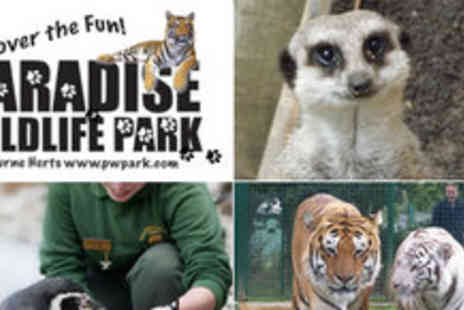 Paradise WildLife Park - 52% off Paradise Wildlife Park Family Ticket - Save 52%