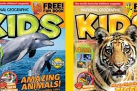 National Geographic Kids - Six Month Subscription - Save 51%