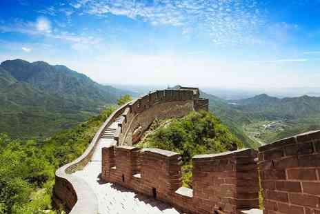 Merry Travel  - Six night Historic China guided tour including Four Star  accommodation, tour guide and meals   - Save 72%