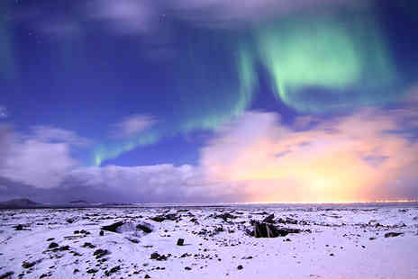 Weekender Breaks - Two or three nights Iceland break including flights and a Northern Lights tour  - Save 34%