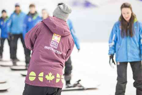Chill Factore - Skiing or Snowboarding Taster Session For One - Save 0%