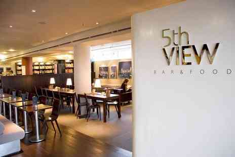 5th View  - Cocktails and a large sharing platter for Two - Save 55%