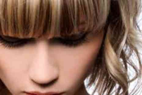 The Cutting Rooms For Her - Highlights, Haircut and Morrocan Oil Treatment - Save 59%