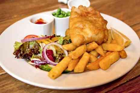 The Hole in The Wall - Fish and Chips For Two  - Save 52%