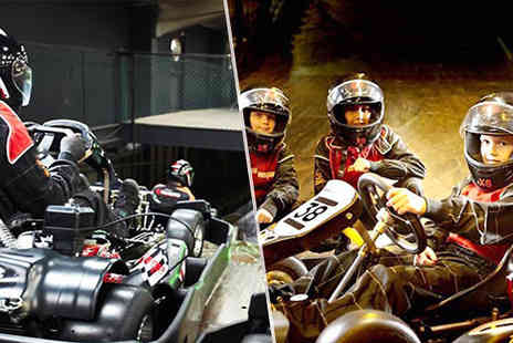 into the blue - Junior and Family Go Karting - Save 0%