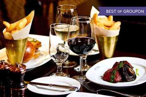 Reform Social and Grill - Two Course Steak or Lobster Burger Meal For Two - Save 51%