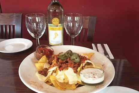 The Royal Hotel - Choice of Sharing Nachos With Bottle of Wine For Two - Save 43%