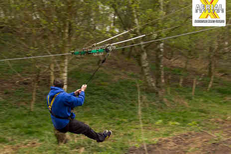 Aerial Extreme - Entry to Aerial Adventure Site for One Adult or One Child  - Save 0%