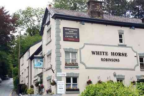 The White Horse - Two Course Dinner For Two  - Save 49%