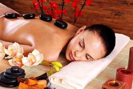 Gems - Hot Stone or Full Body Massage With Taster Facial  - Save 65%